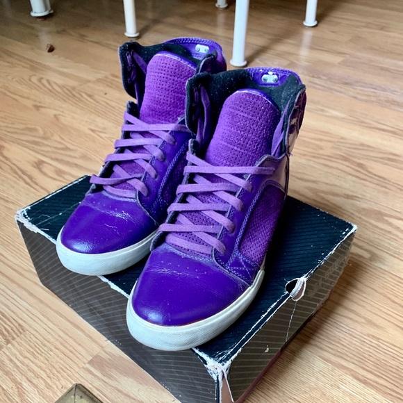 Supra Skytop Purple Patent Leather